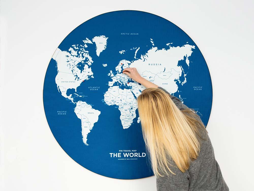 Pin Travel Map