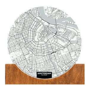 Standing-Map-Amsterdam