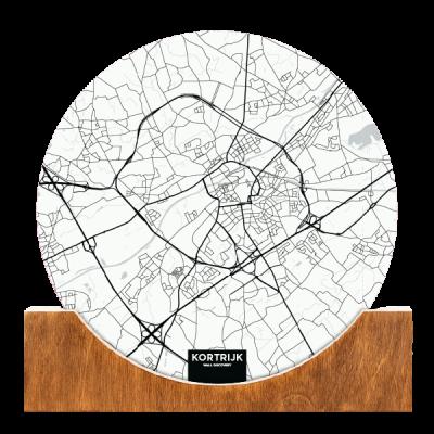 Standing-Map-Kortrijk