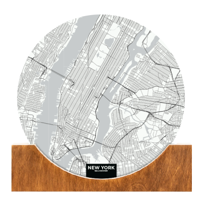Standing-Map-New-York