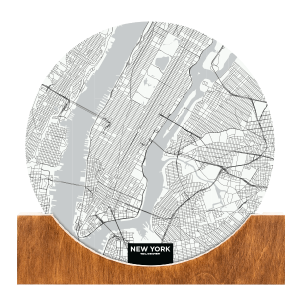 Standing-Map-New-York