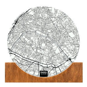 Standing-Map-Paris
