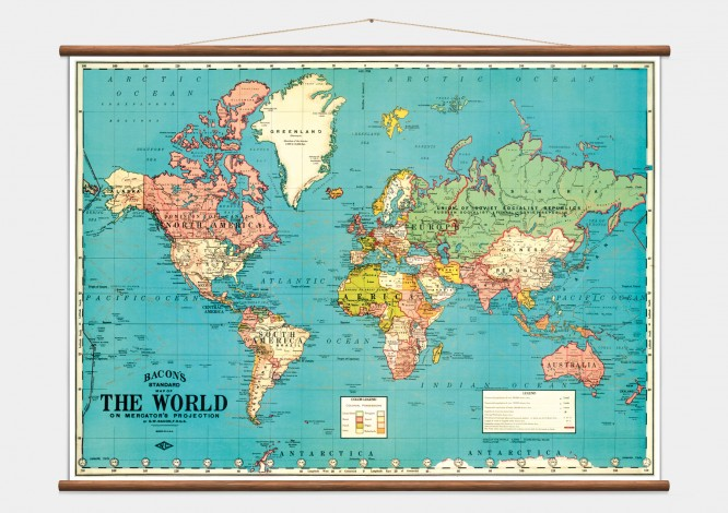 Vintage world map wall discovery world map in bedrooom 1 gumiabroncs Images