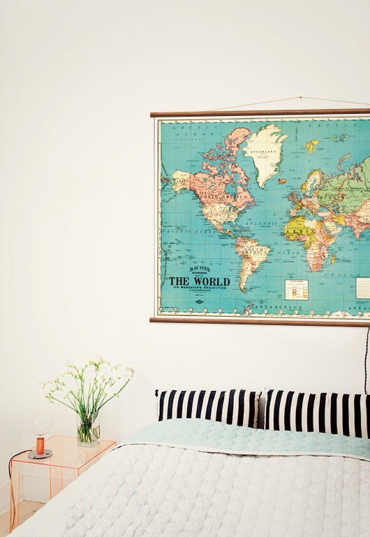 Vintage world map wall discovery world map in bedrooom gumiabroncs Images